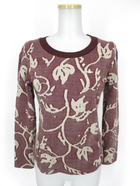 Vivienne Westwood RED LABEL ジャガードニットセーター