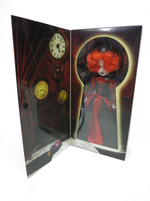 LIVING DEAD DOLLS Alice In Wonderland Inferno as Red Queen(ハートの女王)