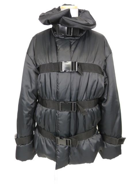 JPG ベルト付き中綿入りコート