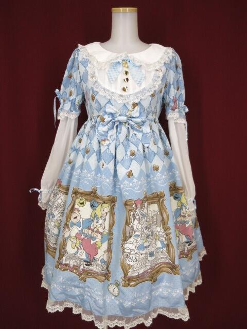 BABY, THE STARS SHINE BRIGHT ふしぎの国のアリス ワンピース&ヘッドドレス