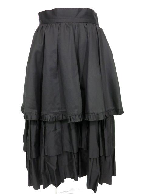 BPN フリルロングスカート