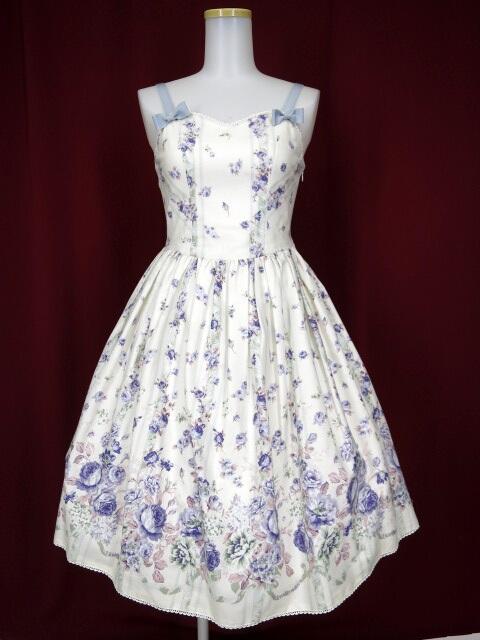 Victorian maiden ローズガーデン リボンジャンパースカート