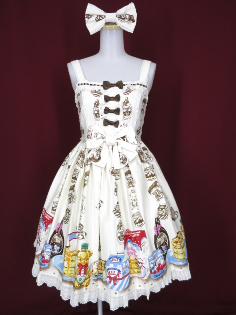 Angelic Pretty Honey CakeジャンパースカートSet