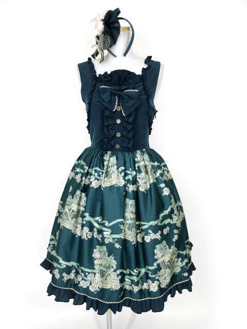 Metamorphose Rose cage バッスルジャンパースカート&カチューシャ