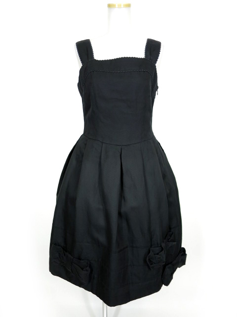 Jane Marple リボンジャンパースカート