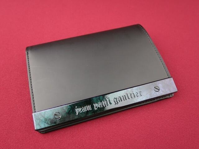 Jean Paul GAULTIER メタルプレートレザー折り財布