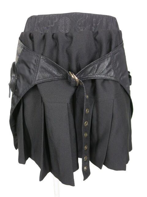 Qutie Frash ミリタリーフラップ付きスカート
