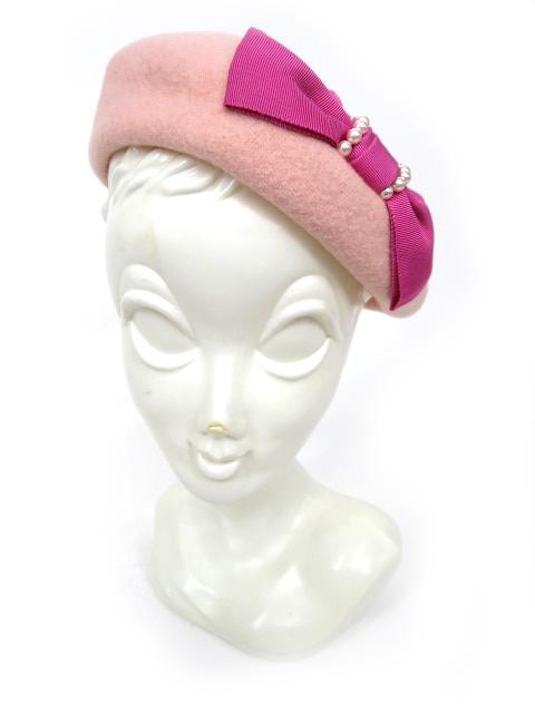 Emily Temple Lulu リボン付きベレー帽