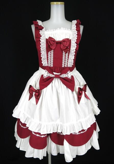 BABY, THE STARS SHINE BRIGHT Cherry Parfait ジャンパースカート(エプロン付き)