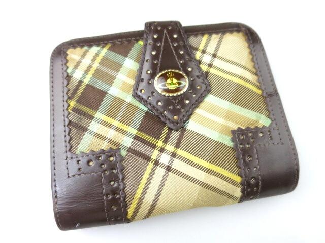 Vivienne Westwood マックマラタータンチェック折り財布