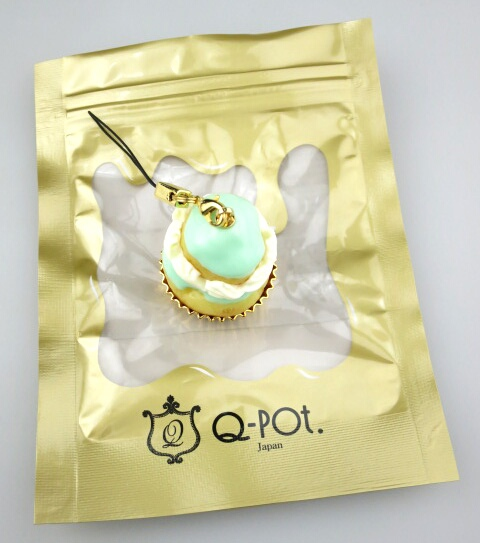 Q-pot. ルリジューズ ストラップ