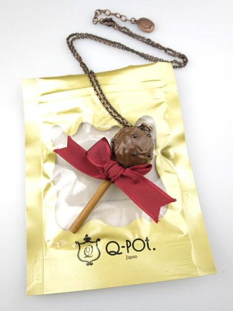 Q-pot. ロリポップリボンチョコレートネックレス