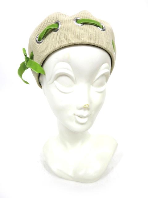 Jane Marple ベロアリボン通しベレー帽
