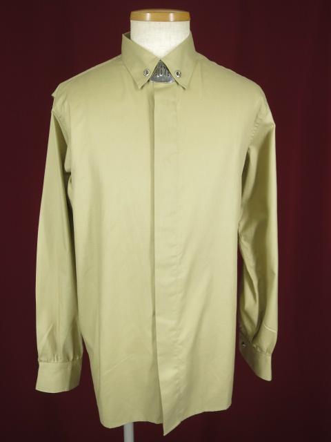 Jean Paul GAULTIER HOMME ネックプレート付きシャツ
