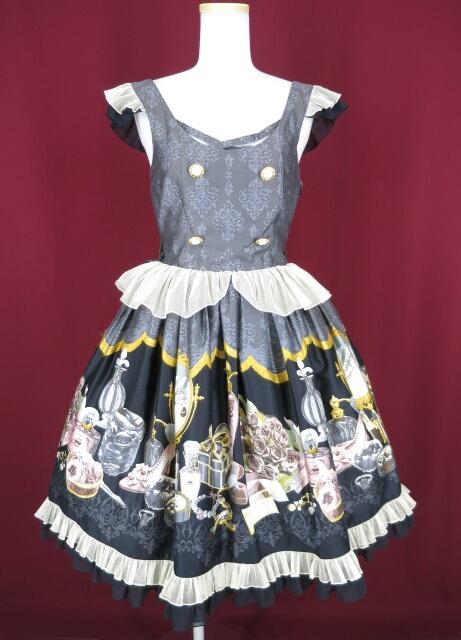 Metamorphose Dress room バッスルジャンパースカート(ミニ)