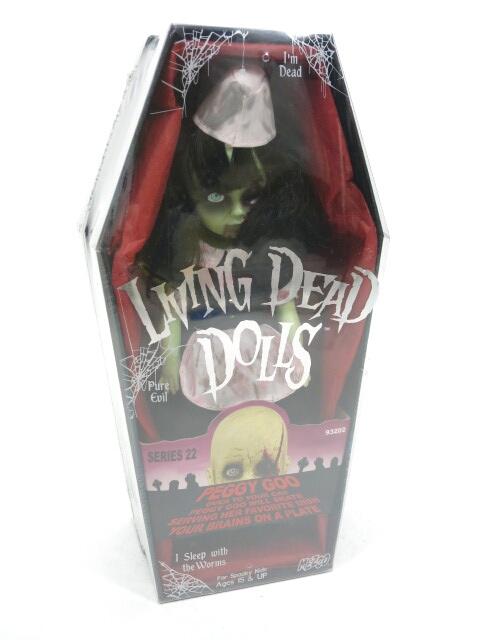 LIVING DEAD DOLLS シリーズ22 Peggy Goo(ペギーグー)