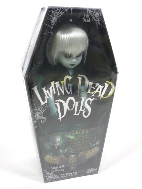 LIVING DEAD DOLLS シリーズ21 Absynth(アブシンス)