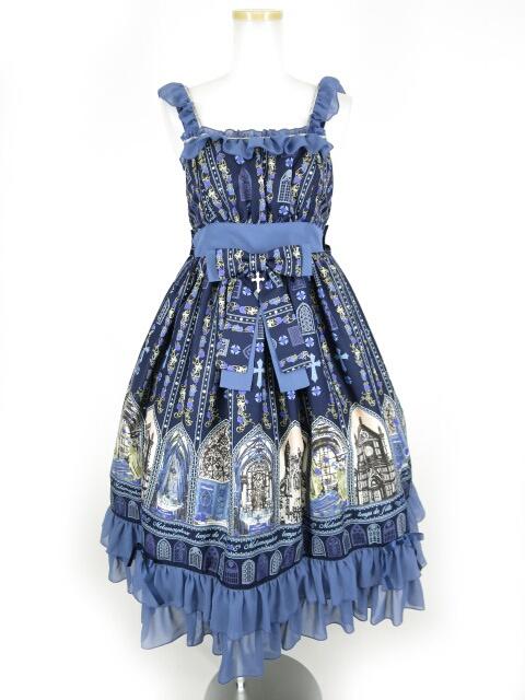 Metamorphose 薔薇の聖堂ミディアムジャンパースカート