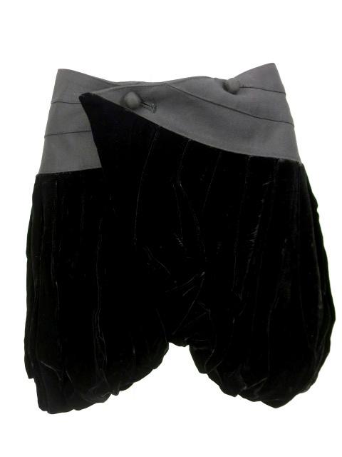 alice auaa 別珍バルーン巻きスカート