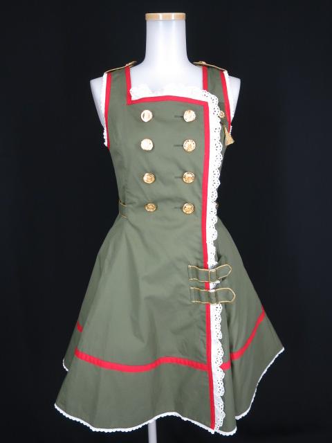 Angelic Pretty navy girlジャンパースカート