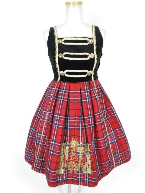Angelic Pretty Coat of Armsタータン切替ジャンパースカート