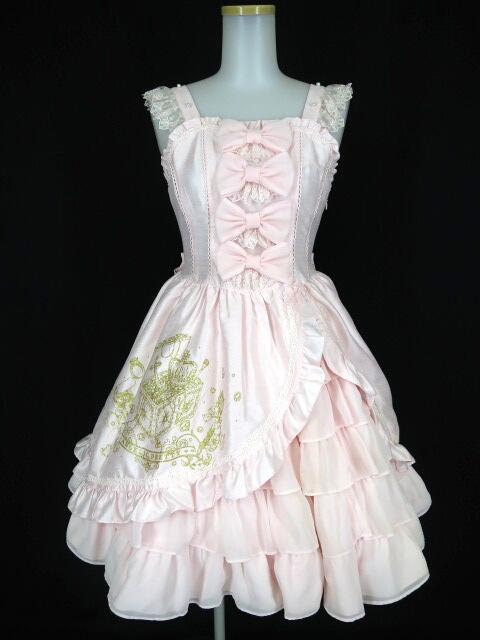 Angelic Pretty 秘密の宝箱ジャンパースカート