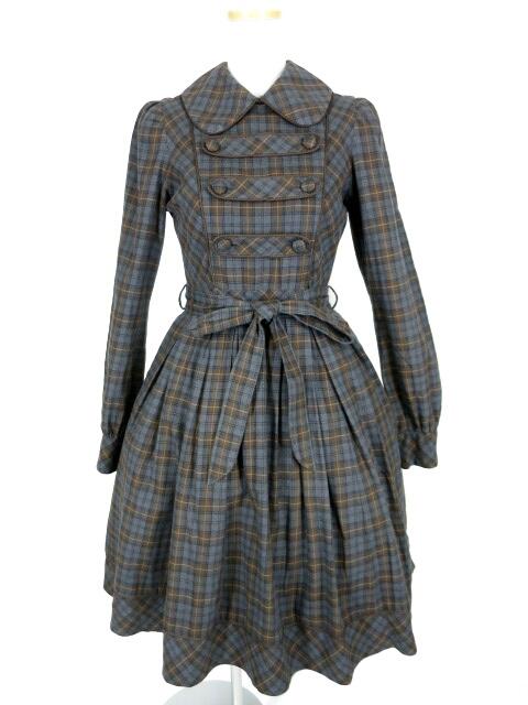Victorian maiden ブリティッシュチェックドレス