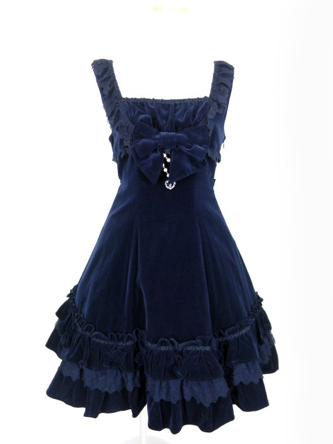 BABY, THE STARS SHINE BRIGHT 別珍ロイヤルアンティークジャンパースカート