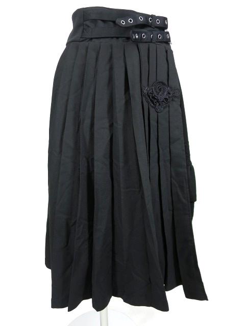 OZZ ONESTE プリーツオーバースカート&ペチコート