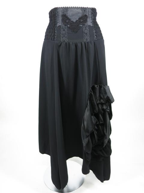 OZZ ONESTE 巻き薔薇デザイン2wayロングスカート