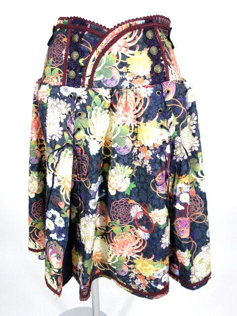 OZZ ONESTE 和花柄スカート