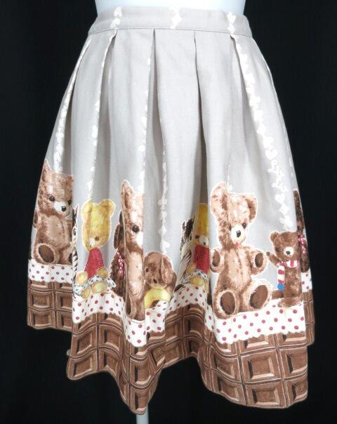 Emily Temple cute チョコ&ぬいぐるみスカート