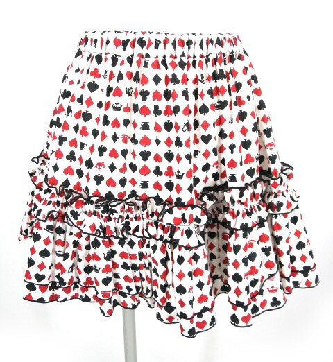 Na+H トランプ柄スカート