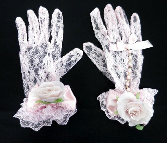 Angelic Pretty Victorian Roseレース手袋