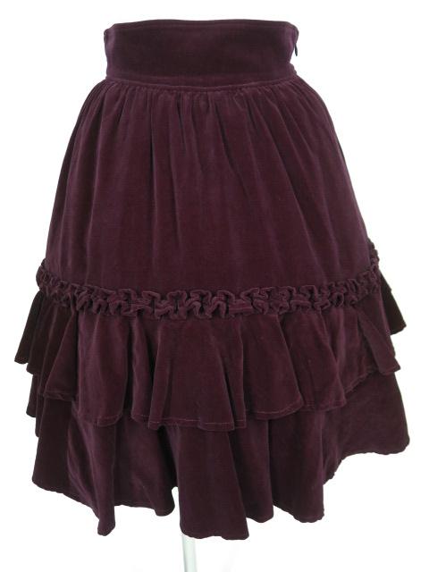 Victorian maiden 別珍フリルスカート