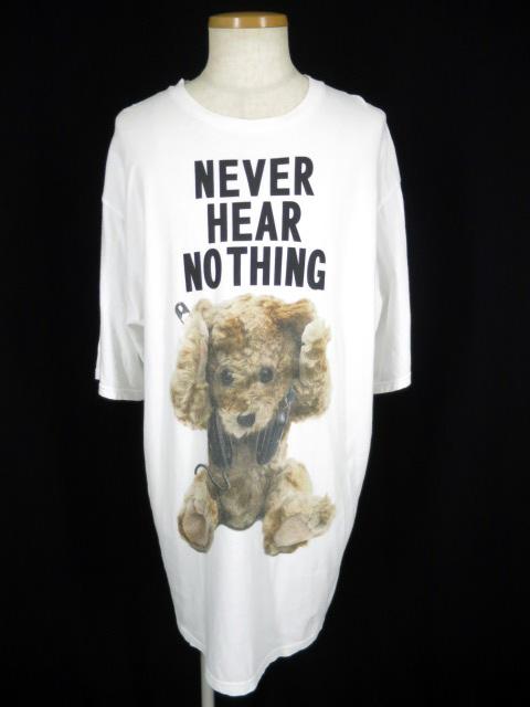 MILK BOY NEVER HEAR BEAR 長袖Tシャツ