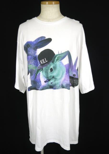 MILK BOY RIOT RABBITS Tシャツ