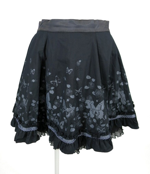 PUTUMAYO アンティークローズフリルスカート