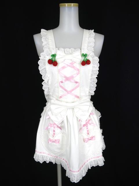 Angelic Pretty Berry Garden編みぐるみつきエプロン