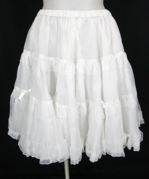 MAM オーガンジーパニエスカート