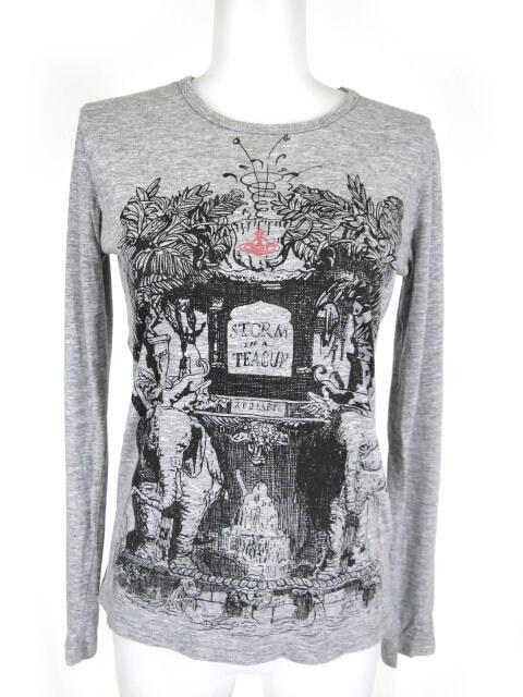 Vivienne Westwood RED LABEL Storm in a Teacup 長袖Tシャツ