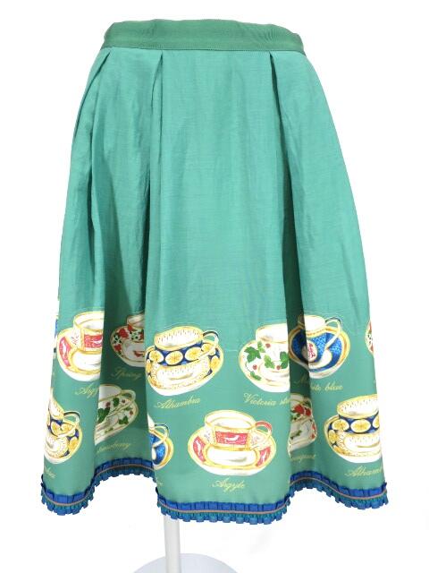 Jane Marple Dans Le Salon ティーカップスカート