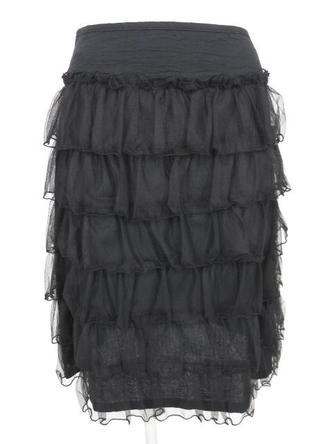 Emily Temple cute チュール段フリル付きスカート