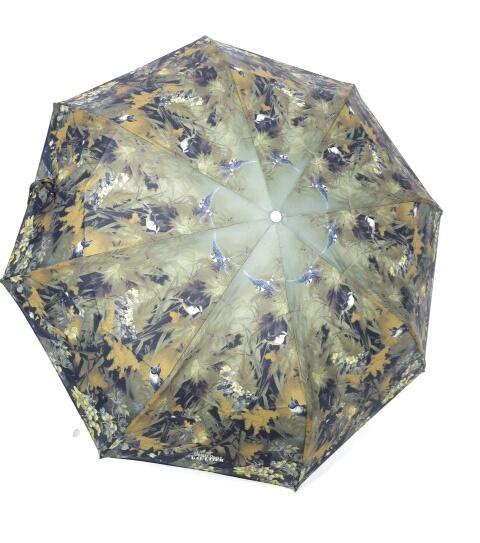 Jean Paul GAULTIER 野鳥&森林柄折り畳み傘