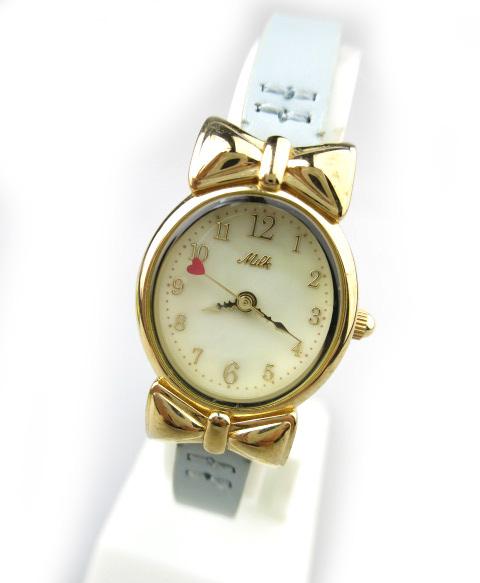 MILK リボン腕時計