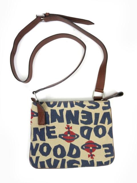 Vivienne Westwood ロゴジャガードミニショルダーバッグ