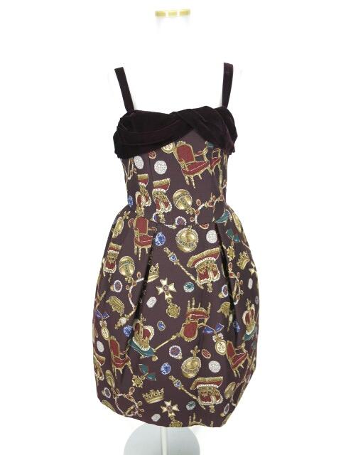 Jane Marple ロイヤルコレクションゴブランジャンパースカート