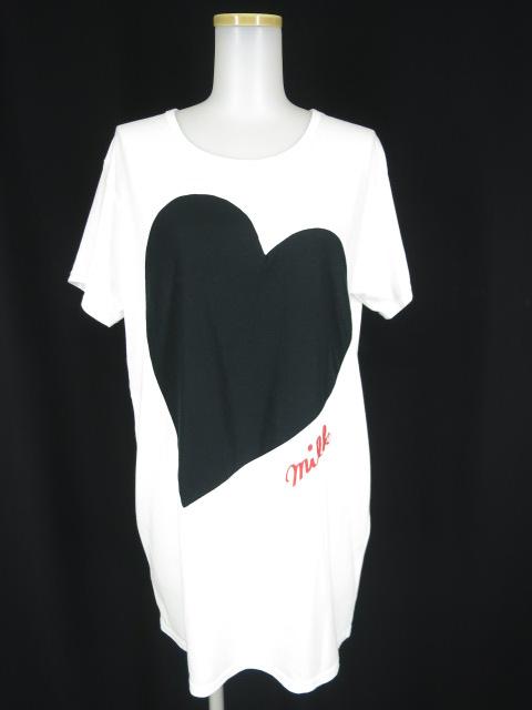MILK HEART ビッグTシャツ
