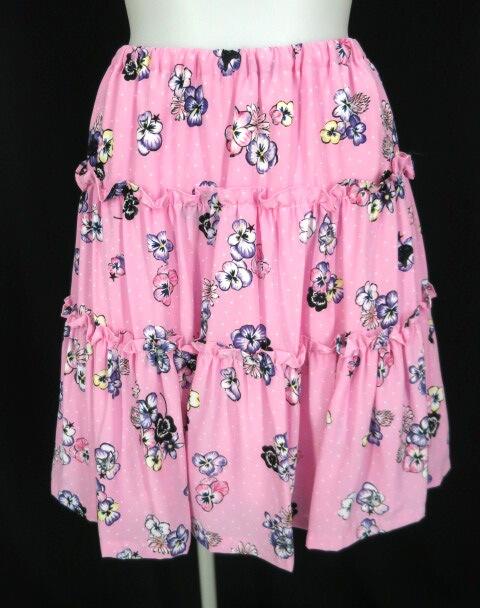 MILK パンジーCATスカート