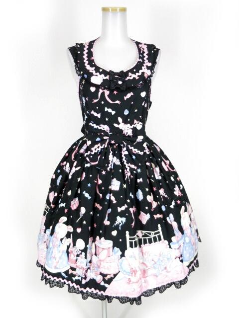 Angelic Pretty ドリーミィドールハウスラウンドジャンパースカート